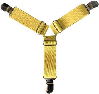 Nider Cintur/ón el/ástico para Yoga Color Negro Hebilla en D Correas de Ejercicio Ajustables patr/ón Colorido cintur/ón el/ástico para Practicar Yoga
