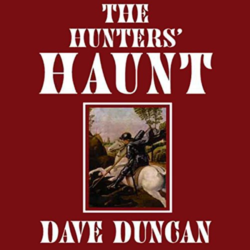 The Hunter's Haunt audiobook cover art