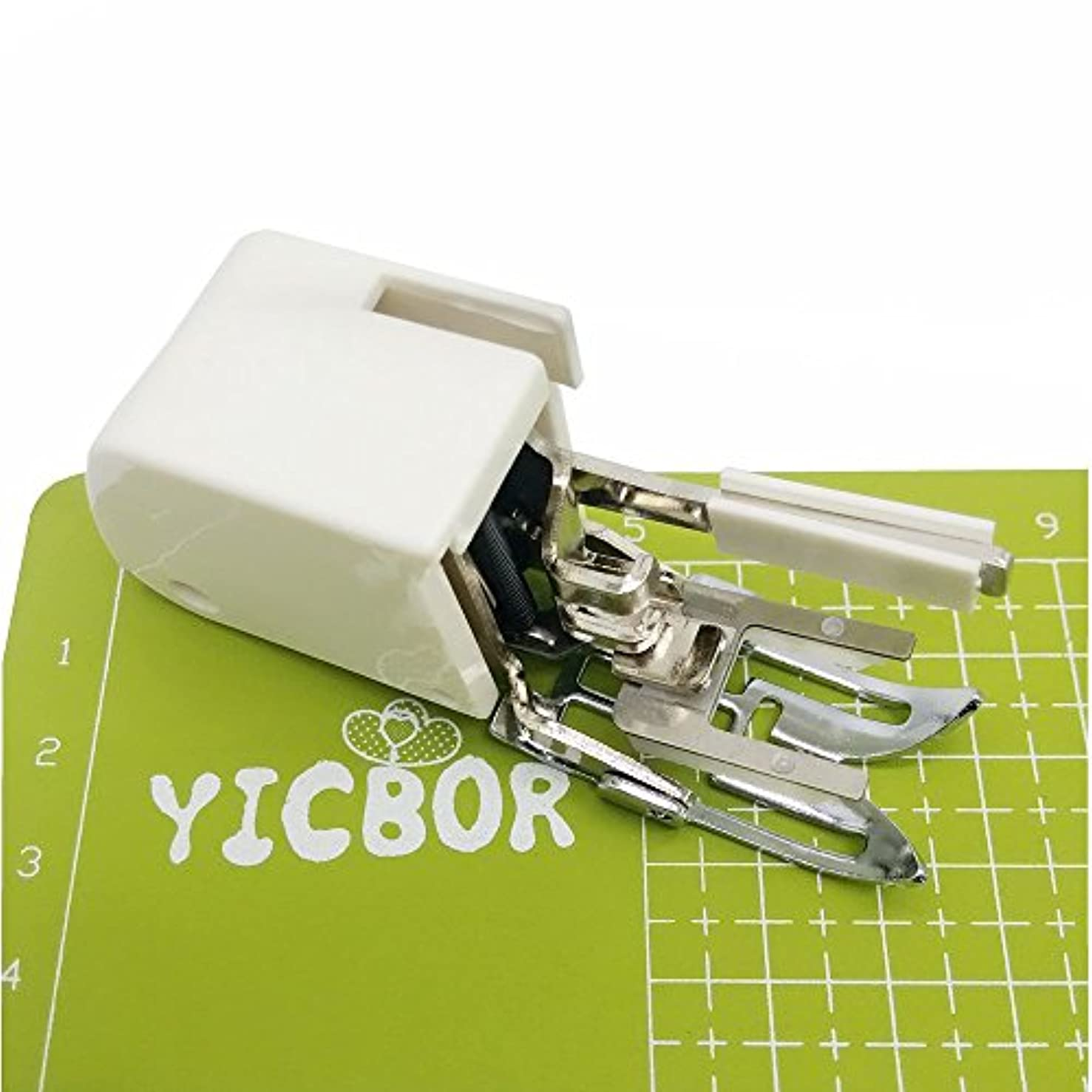 YICBOR Even Feed Walking Foot for All Low Shank Singer Brother Babylock Euro-Pro Janome White Juki New Home Sewing Machine 214872011