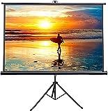 "Best Portable Projection Screens - VIVO 100"" Portable Indoor Outdoor Projector Screen, 100 Review"
