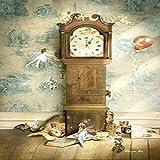 Fairy Girl Angel and Animal Poster Canvas Art Painting Mural Kindergarten Pintura decorativa 60x80 cm