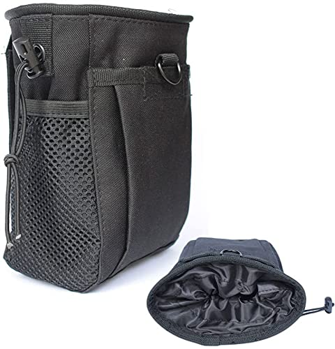 CREATRILL Tactical Molle Drawstring Magazine Dump Pouch, Military...