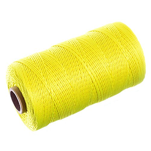 10 ft - White Alkali DIY Projects Multipurpose Utility Line SGT KNOTS Twisted Nylon Rope Crafts Rot Weather Resistant Heavy Load Uses Dock Lines 1//2 inch Towing Chemical