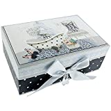 'Paris alcoba' FMG gris mueble para decorada con espejo joyero con accesorios de Peppa