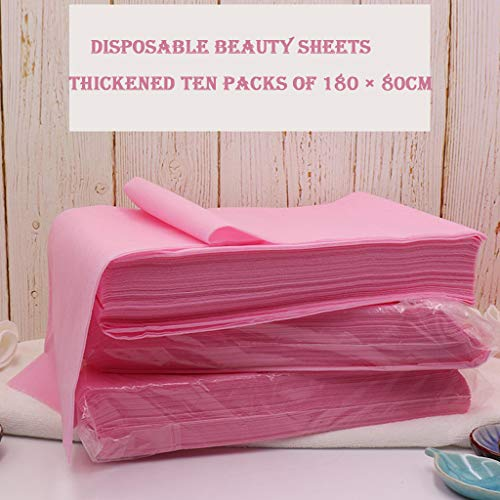 Best Review Of Sheets 30Pcs Waterproof Massage Table, Disposable Fitted Cover for Spa and Tattoo Bed...