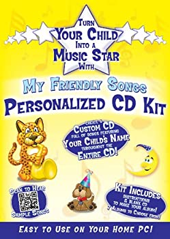 Friendly Songs Personalized Music Box CD Sings Your Child s Name