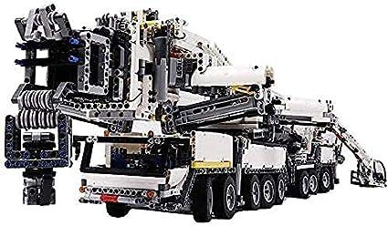 KCGNBQING Technic Liebherr LTM 11200 Crane, 7692 Piezas Bloques Gran Conjunto de Moc Personalizado, Bloques de construcción compatibles con la técnica Lego Montaje de Rompecabezas