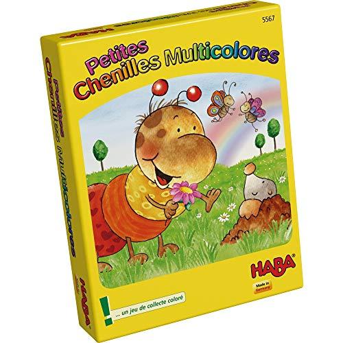 HABA 5567 - Petites Chenilles Multicolores
