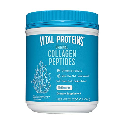 Vital Proteins Collagen Peptides Powder - Pasture Raised, Grass Fed, unflavored 20 oz