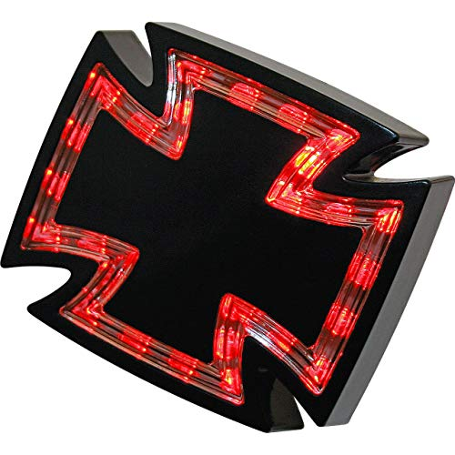 Highsider LED Rücklicht Gothic schwarz klarglas, Multipurpose, Ganzjährig, Kunststoff