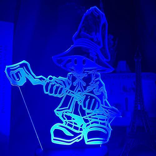 3D Night Lamp Game Anime Vivi Ornitier Figure Kids Night Light Led Color Changing Bedroom Decorative Light Cool Gift for Kids Bedside Lamp