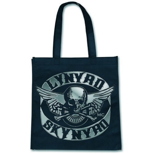 Borsa Shopping Lynyrd Skynyrd Logo (Eco Tote Bag Nera) [Import]