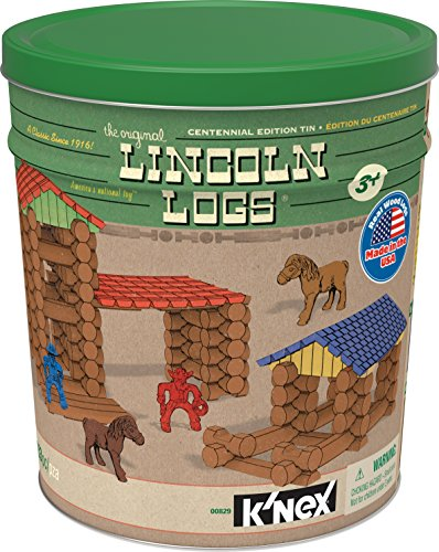 LINCOLN LOGS Centennial Edition Tin (Amazon Exclusive)