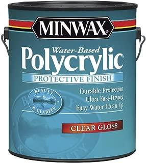 Minwax 15555 Polycrylic Water-Based Protective Clear Finish Gloss, 1-Gallon