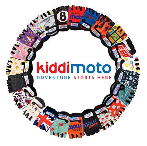 Kiddimoto GLV007S GLV007S-Handschuhe, Gr.S, 2-5 Jahre, orange, S - 6