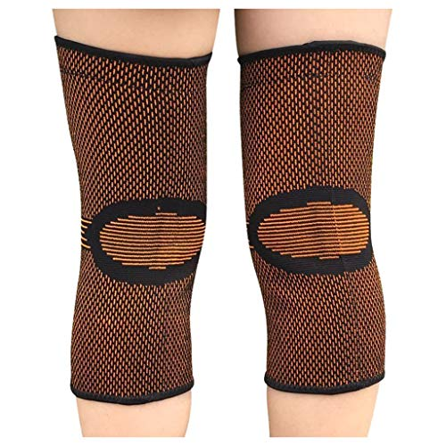 For Sale! Joint Knee Pads Spring Breathable Non-Slip Power Lift Joint Support Knee Pads Knee Brace S...