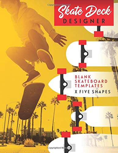 Skate deck designer: Notebook For drawing and creating your own Skateboard designs