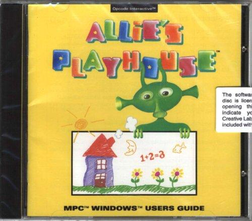 Allie's Playhouse (CD-ROM) Interactive Educational Program