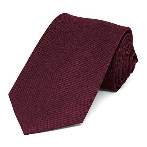 TieMart Matte Finish Tie, 3