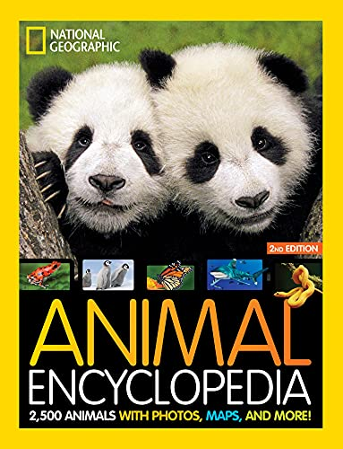 Compare Textbook Prices for National Geographic Kids Animal Encyclopedia : 2,500 Animals with Photos, Maps, and More 2 Edition ISBN 9781426372308 by National  Geographic,National  Geographic