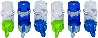 POPETPOP 6 Pzas Dispensador Automático de Agua para Loro Dispensador de Agua Contenedor de Agua Cocctiel Fuga de Agua para...