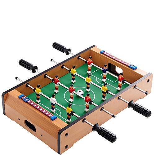Butlers Goooaliat Tisch-Kicker mit 2 x 5 Feldspielern 2 x 1 Torwart Ball Spielstandsanzeige