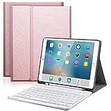 YingStar Teclado con Funda para iPad 9.7 2018 6 Generación/iPad 9.7...