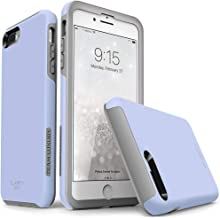 TEAM LUXURY iPhone 7 Plus case/iPhone 8 Plus case, [Clarity Series] Blue [G-II] Ultra Defender TPU + PC Shock Absorbent Protective Case - for Apple iPhone 7 Plus & 8 Plus 5.5
