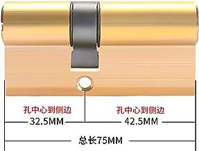 Euro cilinderslot Cilinder Anti-diefstalslot 65 70 80 90 115mm Cilinder Biased Lock Entree Brass deurvergrendeling verleng...