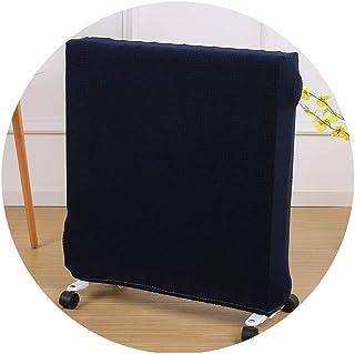 AGLZWY Estiramiento Lleno De Aceite Cubierta del Radiador Calentador A Prueba De Polvo Protector De Muebles Lavable Spandex para La Oficina En Casa (Color : Blue, Size : Suitable for About 40-60cm)