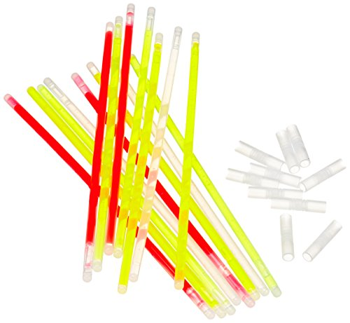 Hartig + Helling 98268 - Tubos luminosos de neón, 100 unidades, varios colores
