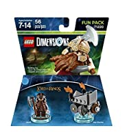 Lord Of The Rings Gimli Fun Pack - LEGO Dimensions by Warner Home Video - Games [並行輸入品]
