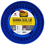 Gamma Seals Airtight & Leakproof Lid for 3.5 to 7 Gallon Buckets-Blue