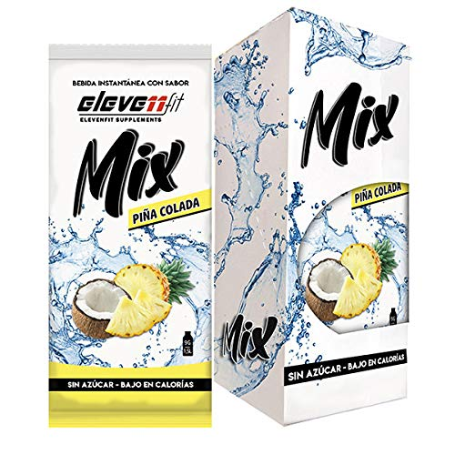 Eleven Fit Caja 12 Uds Mix Sabor Piña Colada Sin Azúcar 100 g