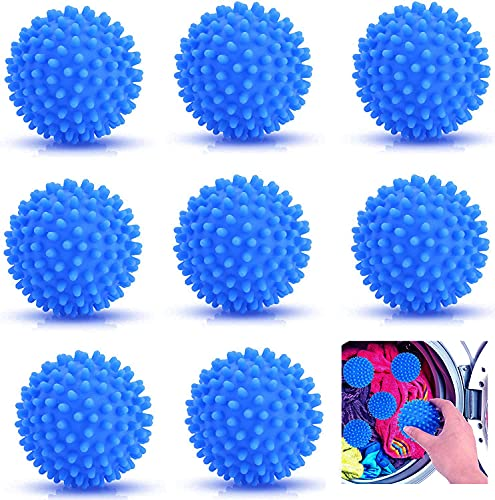 Bolas para secadora con aroma, bolas de secadora para ropa esponjosa, bolas de secado reutilizables