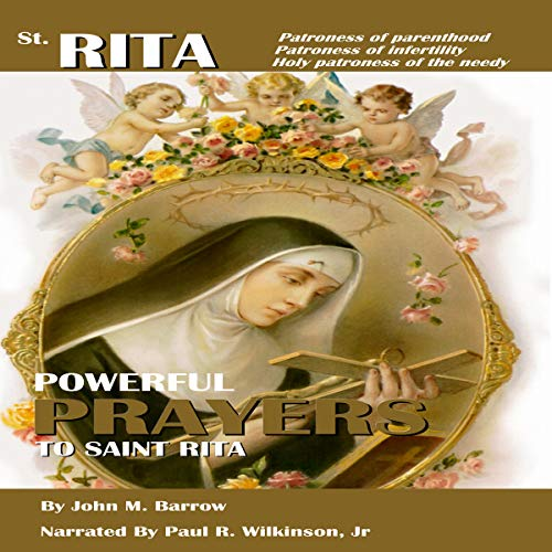 Prayers to St. Rita audiobook cover art