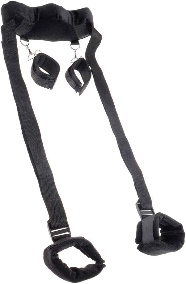 Selling Position with Cuffs Lurious Black Restraining Superlatite Great System