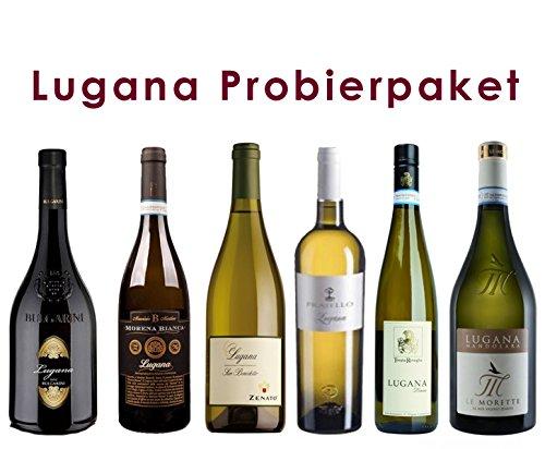 6 er Probierpaket Lugana   Weißwein   trocken   6 x 0,75 L.