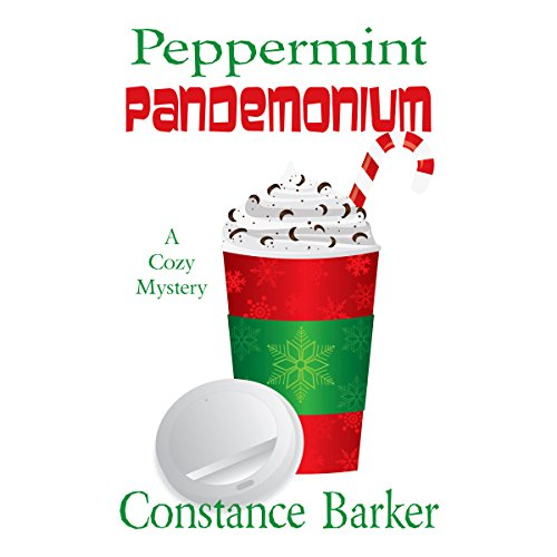 Peppermint Pandemonium audiobook cover art