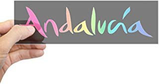 "CafePress Andalucia Sticker 10""x3"" Rectangle Bumper Sticker Car Decal"