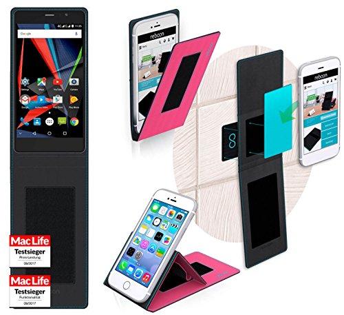 Hülle für Archos 55 Diamond Selfie Tasche Cover Hülle Bumper   Pink   Testsieger