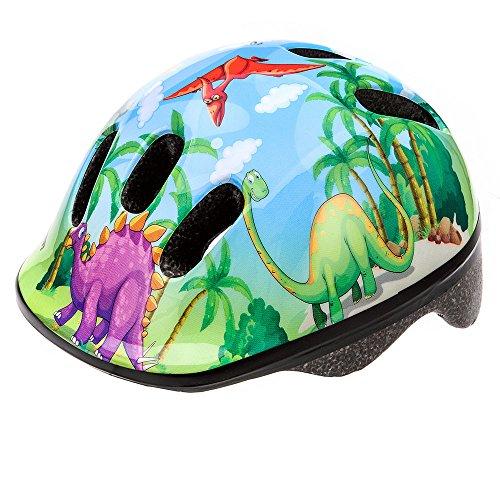 meteor MV6 - Casco da ciclismo, colore: dinosauro