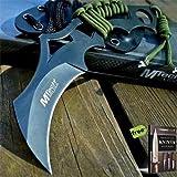 8' M-TECH Tactical Combat Neck FIXED BLADE Carbon Steel Razor Sharp Blade Knife Karambit Claw w/KYDEX SHEATH