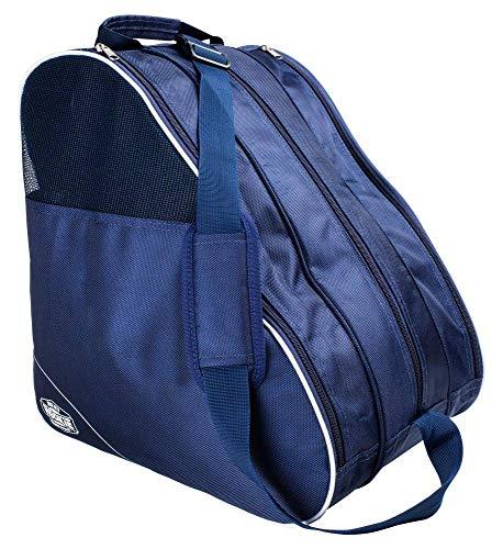 Rookie Compartmental Boot Bag Tasche für Schlittschuhe Skaten Unisex Adult, Unisex, Mehrfarbig (Navy/weiß), 35 L