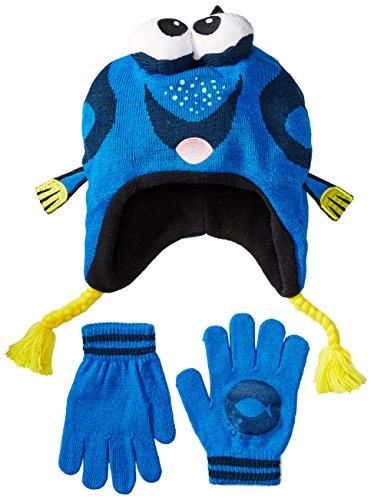 Disney Child Dori 3D Knit Peruvian Hat and Glove Set