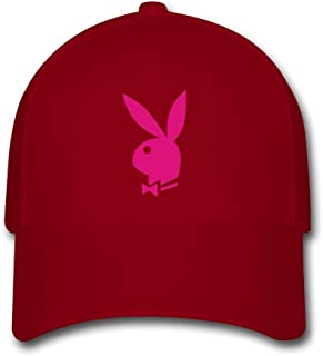 BIN New Amazing Unisex Pink PlayBoy Fashion Cotton Baseball Cap Casual Snapback Hat