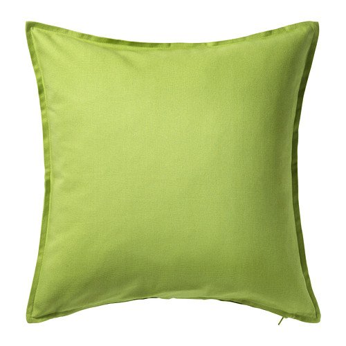 ikea GURLI Cushion cover,Size 50x50 cm (Lime green)