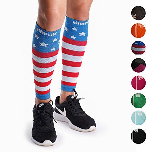 Calcetines de compresión para pantorrillas, calcetines de compresión para las piernas - Reduce la fragilidad de la espinilla, dolores musculares, dolores, calambres - Proporcionan una recuperación rápida, mejor circulación - 1 o 3 pares, S/M
