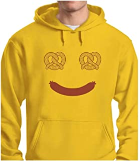 Tstars - Oktoberfest Costume Food Face Funny Halloween Hoodie