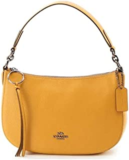 Coach Womens Sutton Crossbody Bag, Yellow (Gm/Darkmustard) - 52548